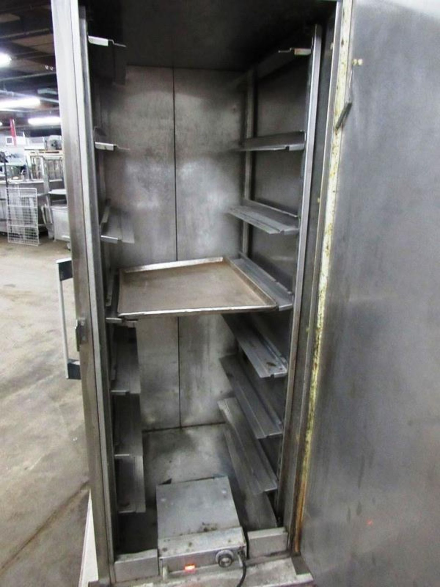 """Carter-Hoffman Mdl. FR-50 Portable Proofing Cabinet for 18"""" X 26"""" trays, 7-spaces, tested, works - Image 3 of 5"""