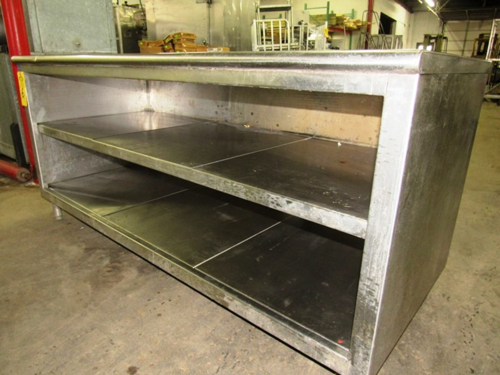 "Stainless Steel Cabinet, 30"" W X 6' L X 36"" T - Image 2 of 3"