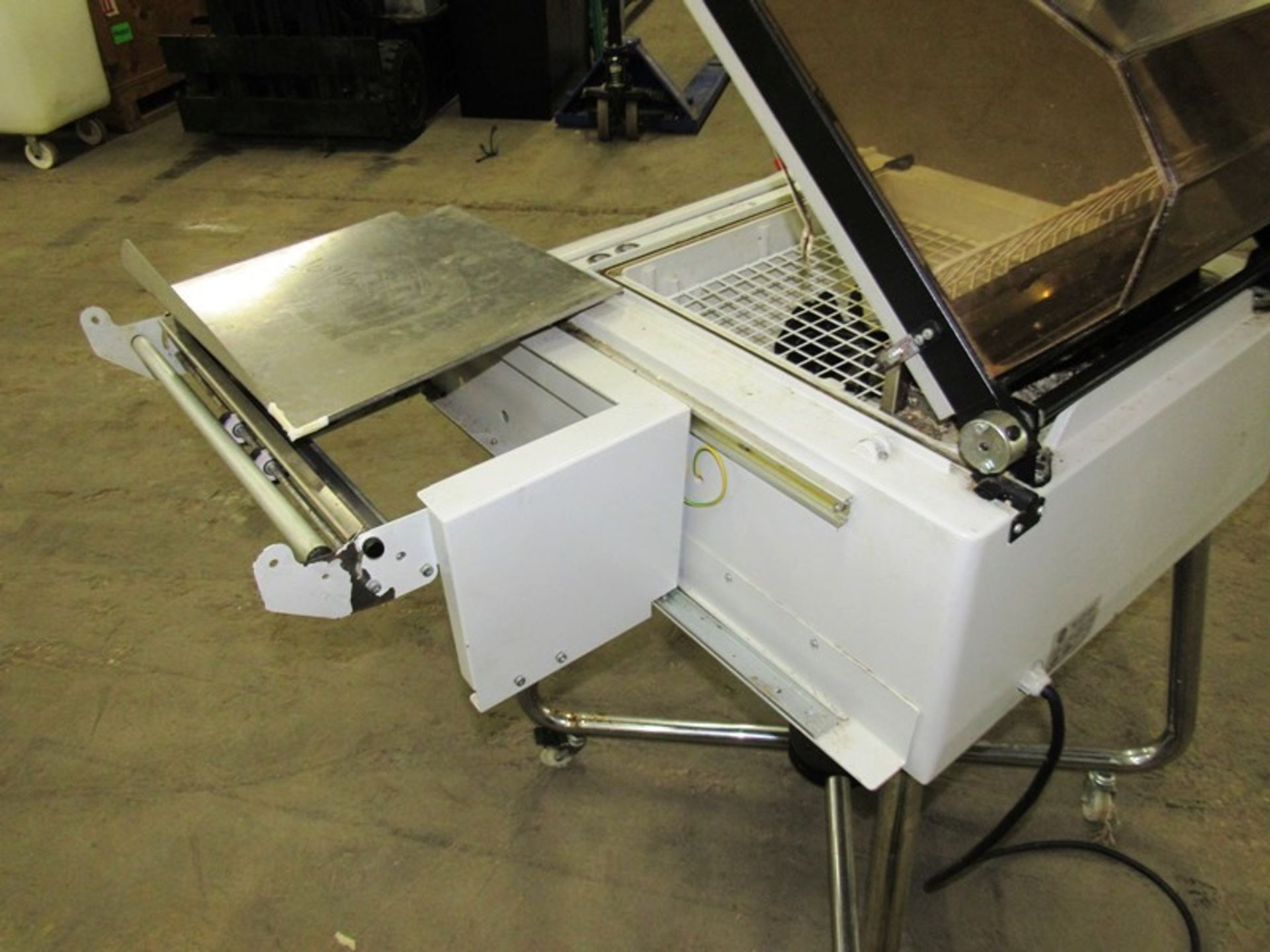 """Multipak-Torre Mdl Galaxy Shrink Wrap Machine, 17 1/2"""" W X 14"""" L X 8"""" H sealing dimensions, up to - Image 4 of 6"""