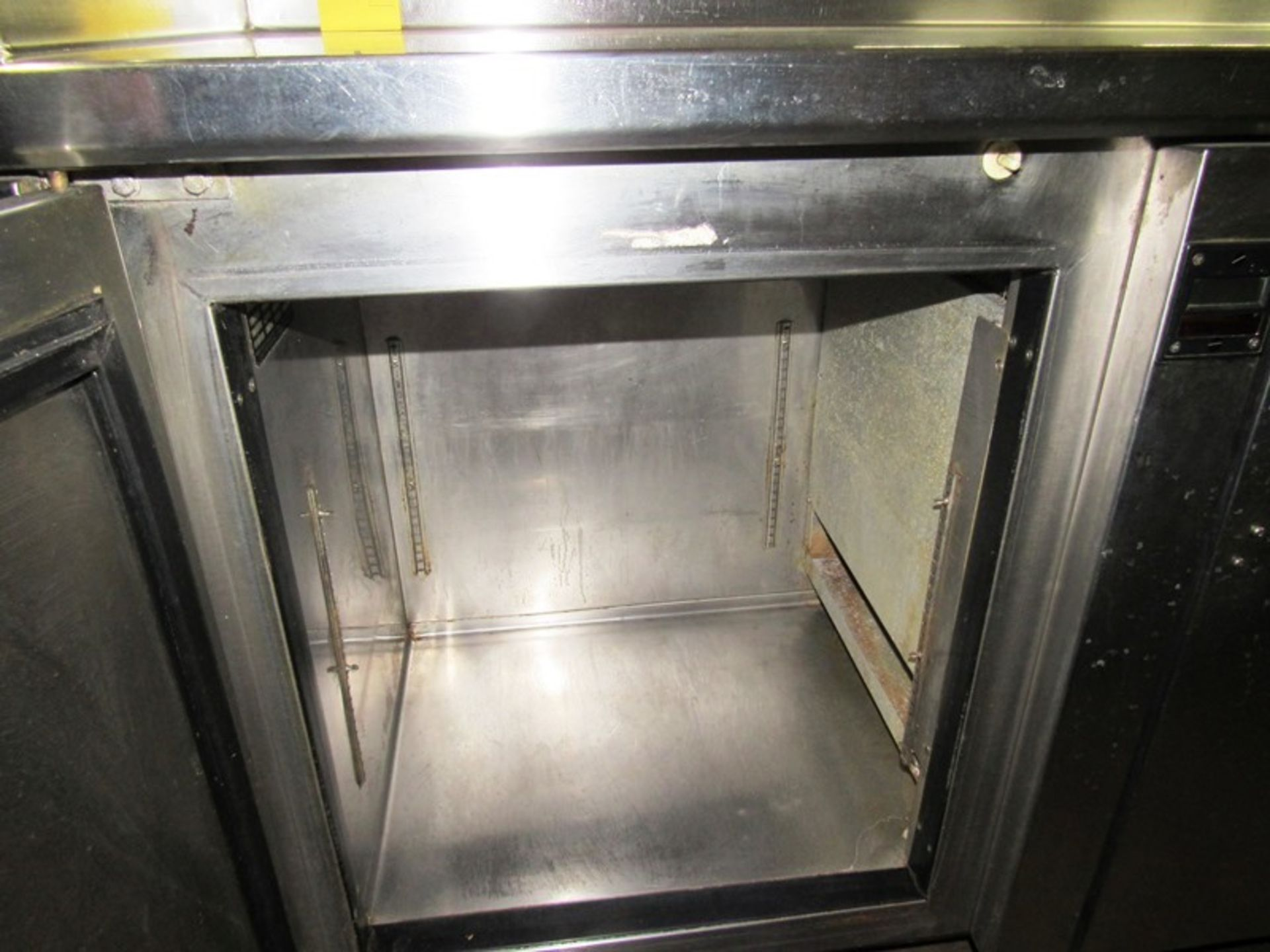 """Sani-Metal Mdl. RST-720 Stainless Steel Refrigerated Prep Table, 24"""" wide X 83"""" long X 36"""" tall, 2 - Image 5 of 7"""