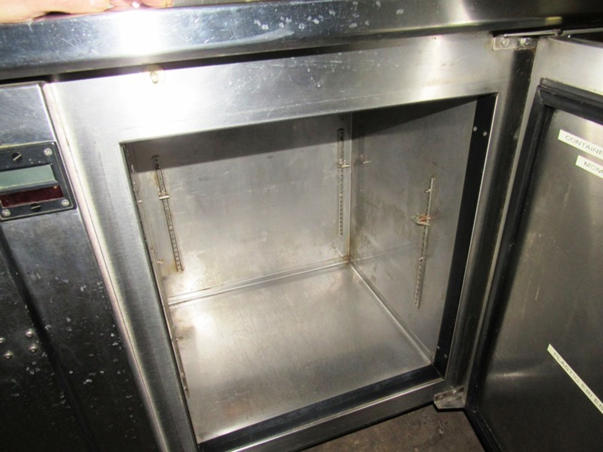 """Sani-Metal Mdl. RST-720 Stainless Steel Refrigerated Prep Table, 24"""" wide X 83"""" long X 36"""" tall, 2 - Image 6 of 7"""