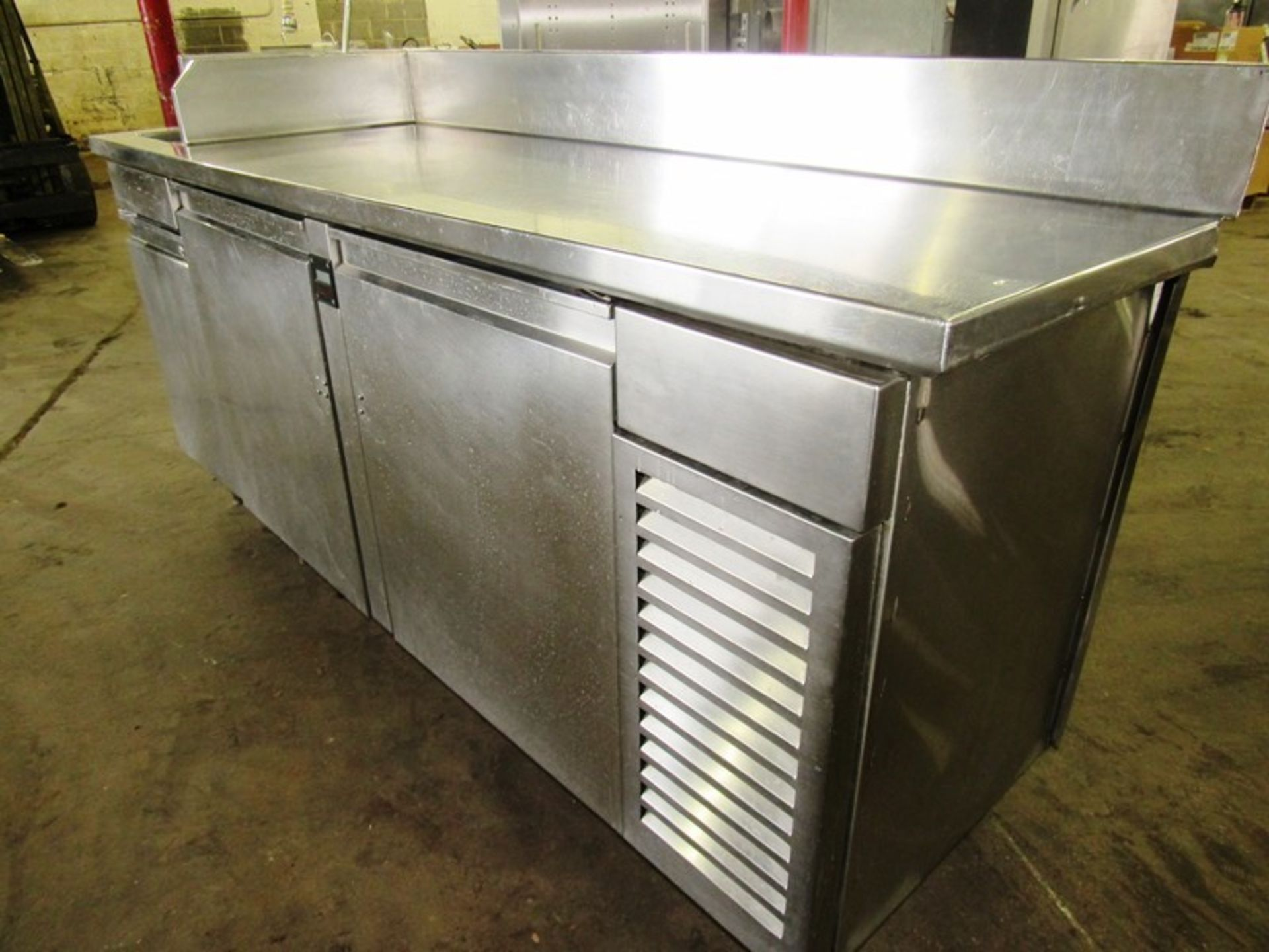 """Sani-Metal Mdl. RST-720 Stainless Steel Refrigerated Prep Table, 24"""" wide X 83"""" long X 36"""" tall, 2 - Image 2 of 7"""