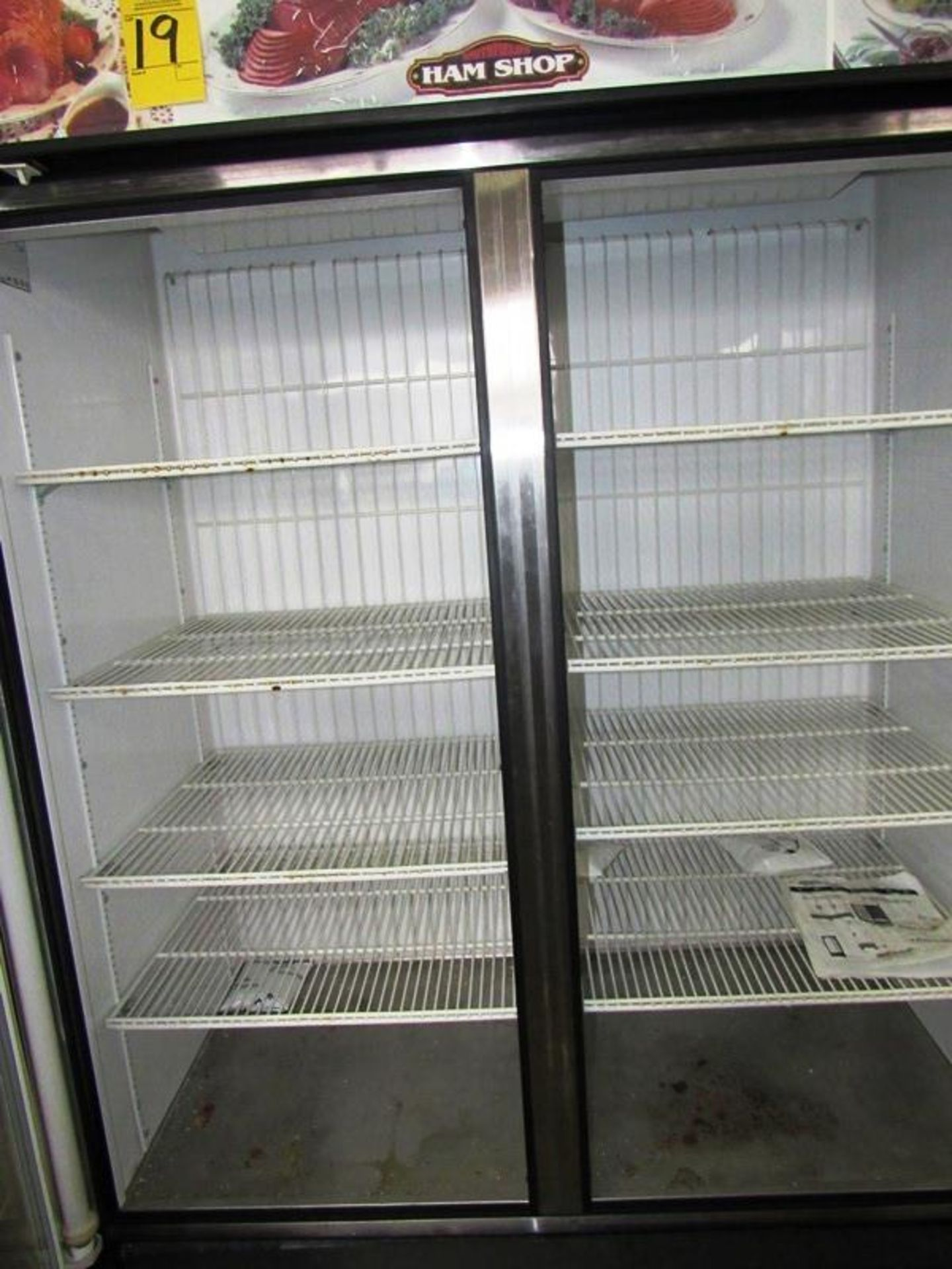 "True Mdl. GDM-49 Freezer, 49 cu. ft., double door, 8 shelves, 54 1/8"" L X 29 7/8"" D X 78 5/8"" T, 1/2 - Image 2 of 3"