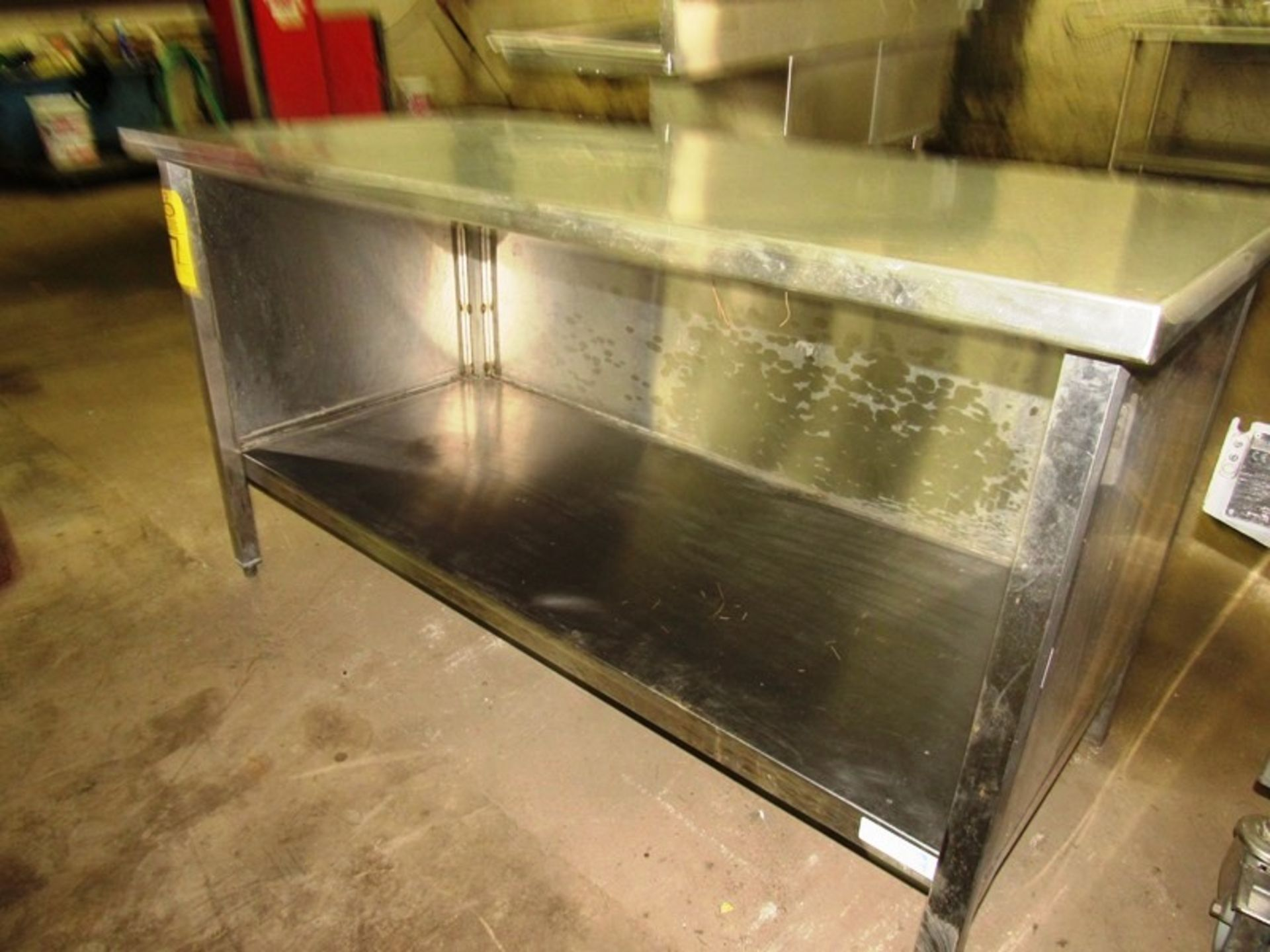 "Stainless Steel Cabinet, 30"" W X 5' L X 36"" T - Image 2 of 3"