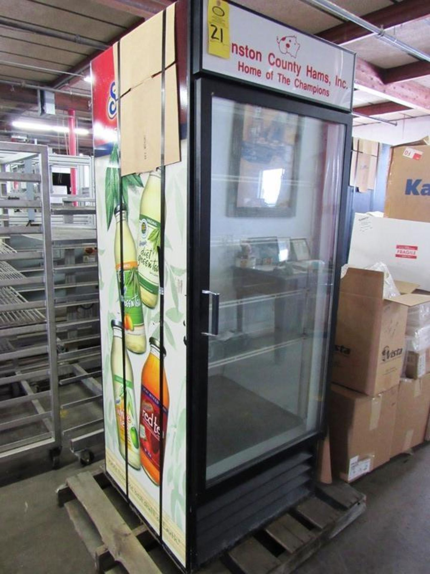Beverage Air Mdl. MT-27 Refrigerator and/or Freezer, 4 shelves, single door, 27 cu. ft., 30 W X