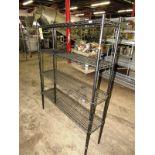 "Uline Metro Rack, 12"" W X 4' L X 64"" T, 4-shelves"