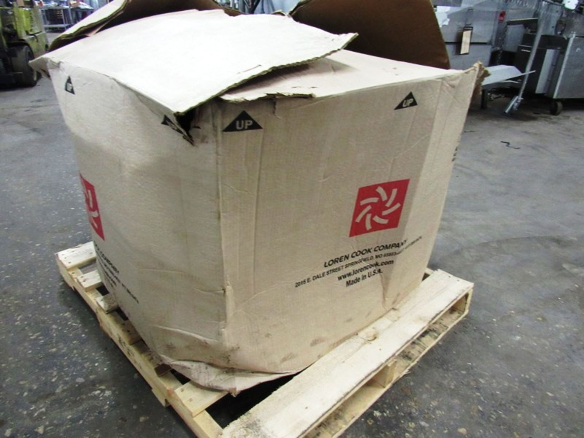 Cook Mdl. 120ACE120C13D Exhaust Fan, Ser. #012SG32092/01/0001801, H.P.0.250, 115 volts, ENCL:ODP, - Image 2 of 7