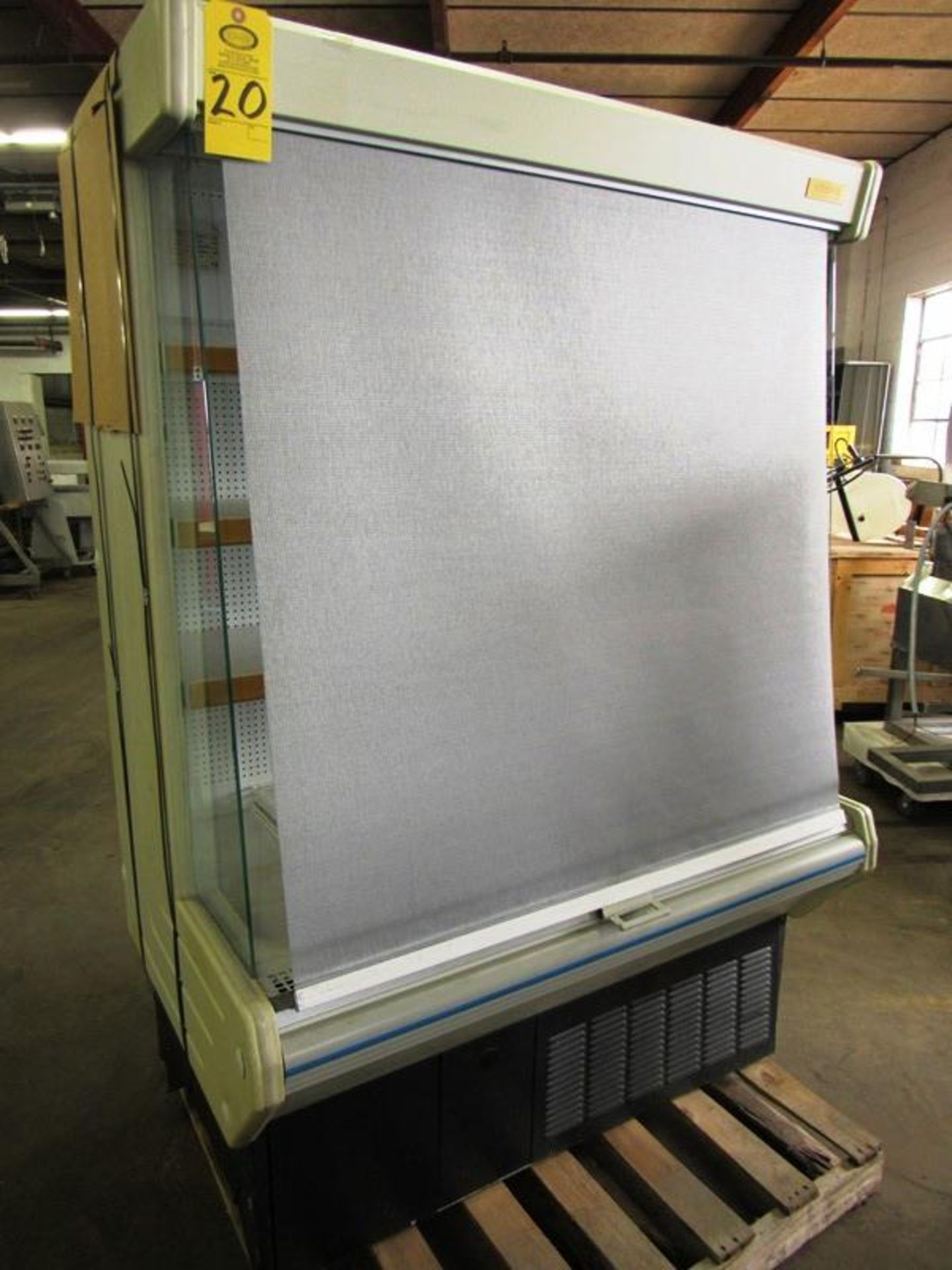 """Lowe Mdl. ML-13-BLX-2 Refrigerated Merchandizer with screen, 51"""" W X 75"""" T X 30"""" D, tested, not - Image 2 of 4"""