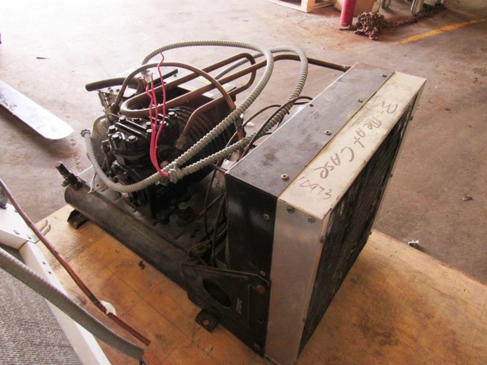 Heatcraft/Larkin Mdl. LCA590AB Evaporator, 2 fan, with Copeland Mdl. Cham0150-1AC-001Compressor, 5 - Image 5 of 6
