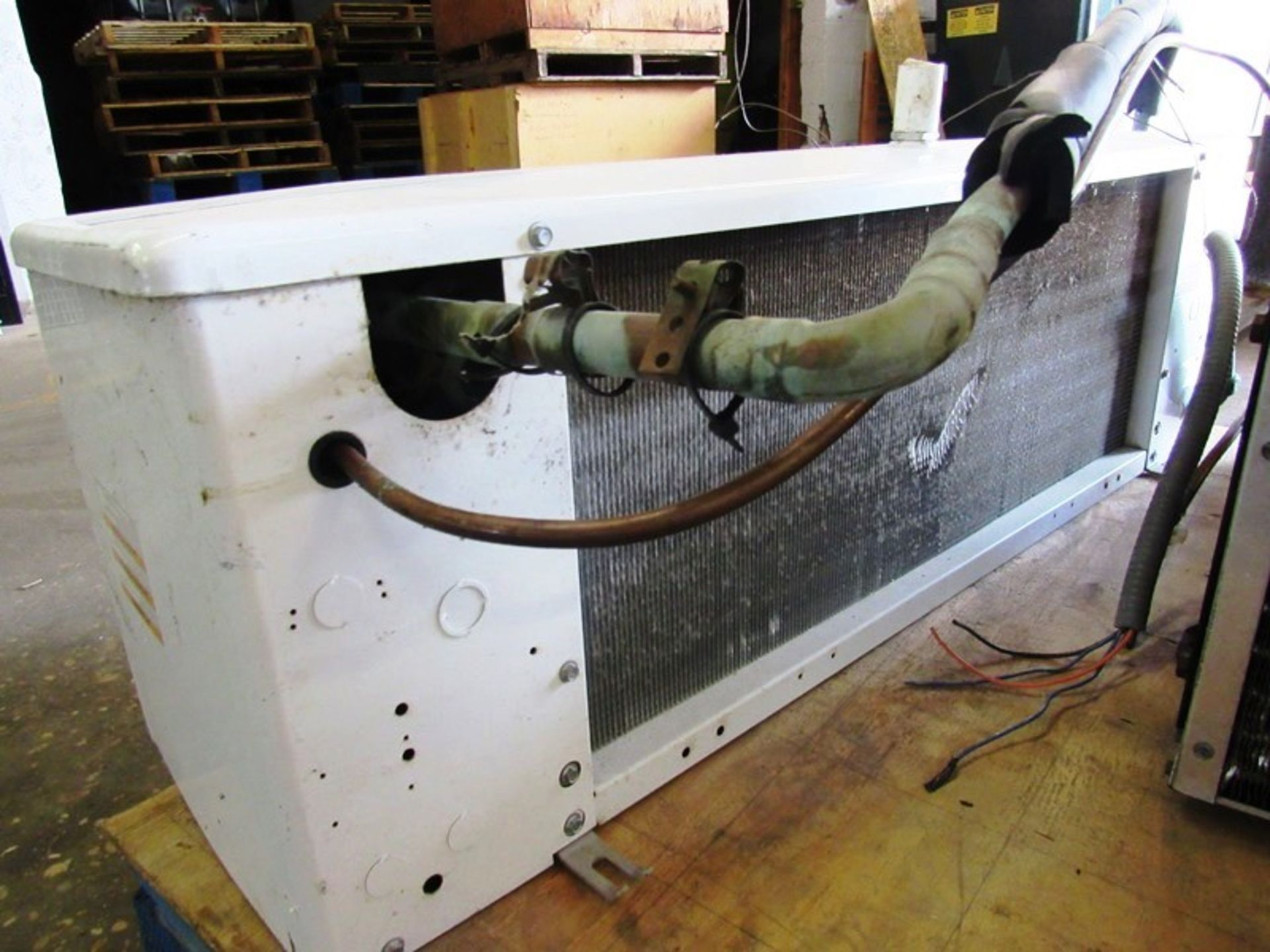 Heatcraft/Larkin Mdl. LCA590AB Evaporator, 2 fan, with Copeland Mdl. Cham0150-1AC-001Compressor, 5 - Image 4 of 6