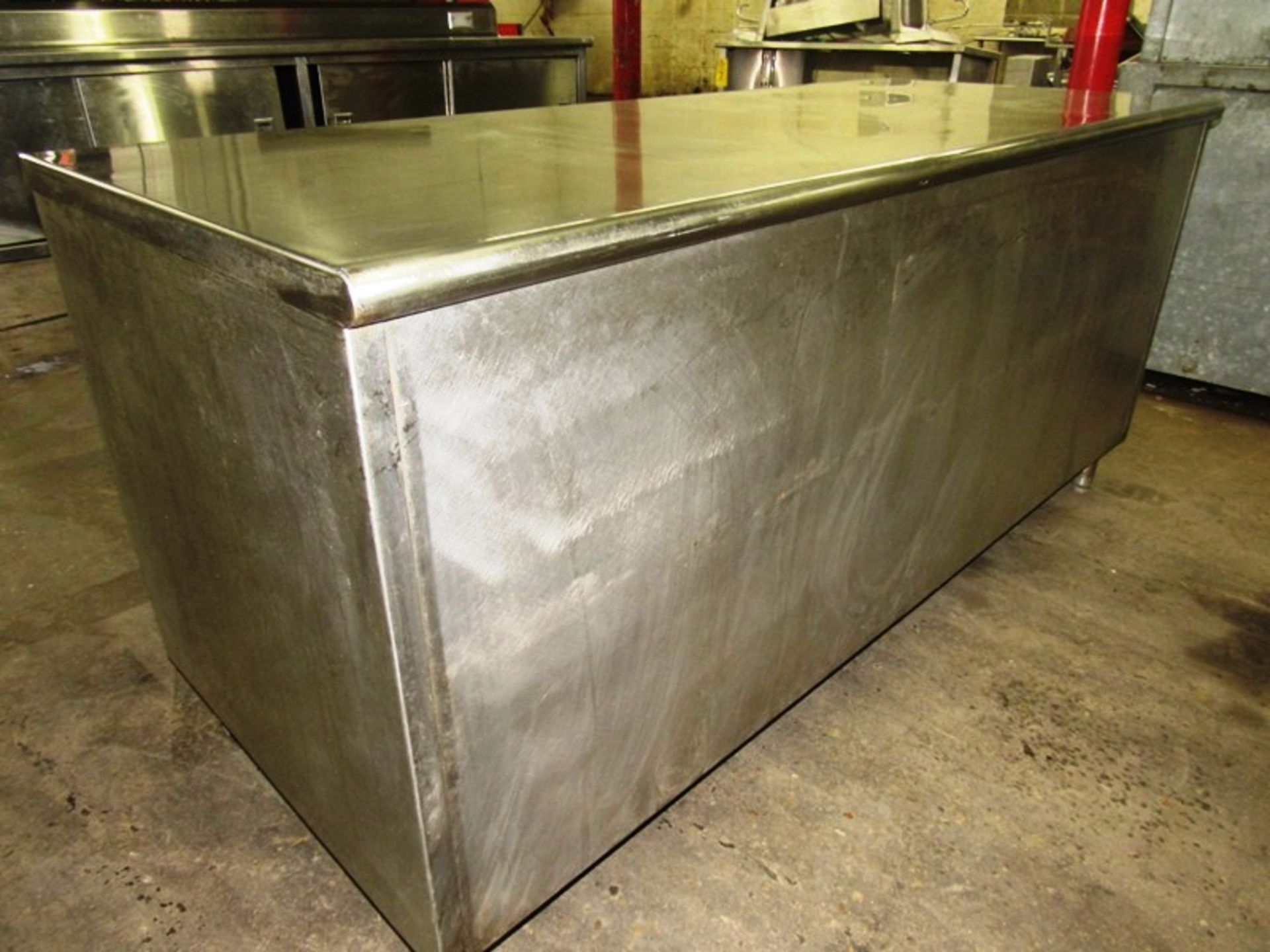 "Stainless Steel Cabinet, 30"" W X 6' L X 36"" T - Image 3 of 3"