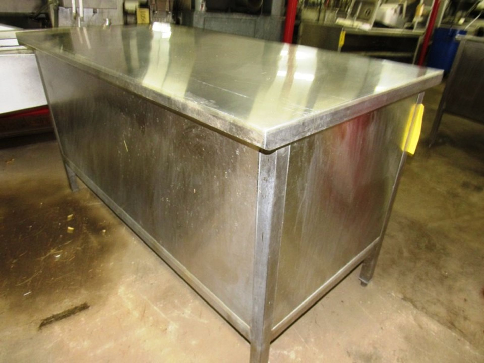 "Stainless Steel Cabinet, 30"" W X 5' L X 36"" T - Image 3 of 3"