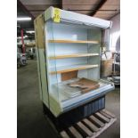 "Lowe Mdl. ML-13-BLX-2 Refrigerated Merchandizer with screen, 51"" W X 75"" T X 30"" D, tested, not"