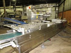 Multivac Mdl. R240 Rollstock Thermoforming Packager, Ser. #106852, approx. 450 mm between chains,
