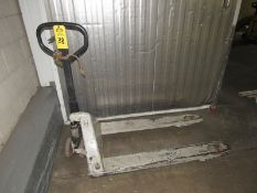 Crown Pallet Jack (Required Rigging Fee: $10 Contact Norm Pavlish at Nebraska Stainless Company
