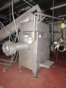Wolfking Mdl. C-250-UNI Stainless Steel Grinder, Ser. #M-80477, Mfg. 1995, stainless steel auger,