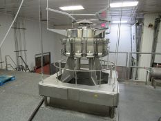 Ishida Mdl. CCW-M-214W-S70-WP Stainless Steel 14-Bucket Scale, Mfg. 2004, Number 47118, Job #03/