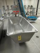 Stainless Steel Meat Truck (Required Rigging Fee: $10 Contact Norm Pavlish at Nebraska Stainless