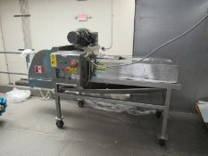 Portable Urschel Mdl. J9-A Stainless Steel Dicer, Ser. #1246, 5 h.p., 230/460 volts, 3 phase (