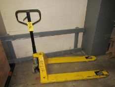 Pallet Jack (Required Rigging Fee: $10 Contact Norm Pavlish at Nebraska Stainless Company 402-540-