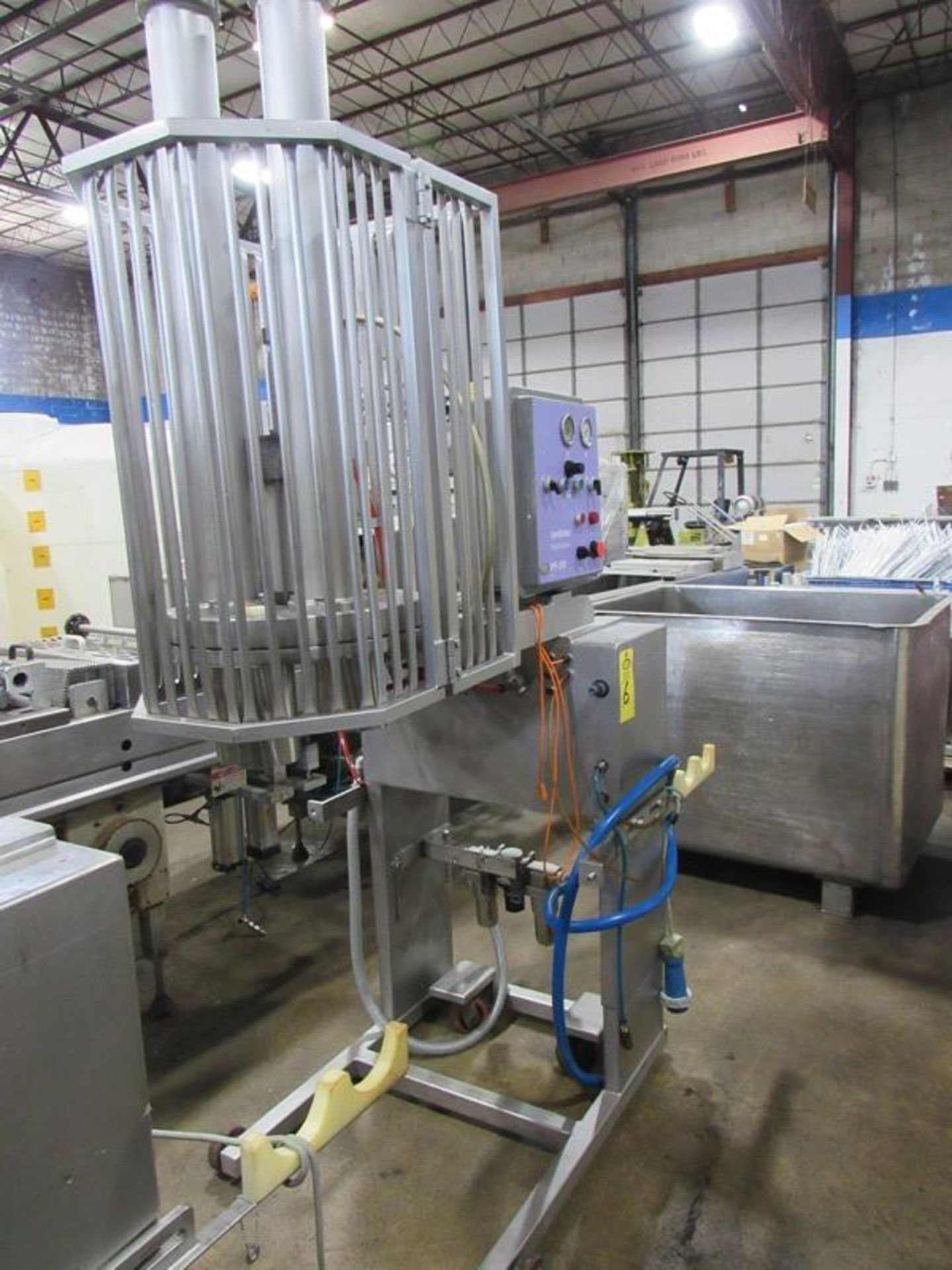 Handtmann Mdl. VPF-35R Portioning Machine (Equipment must be removed by Thursday, June 24th no