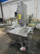Marel/AEW Mdl. 400 Stainless Steel Band Saw, stainless steel construction, Ser. 3133604, Mfg.