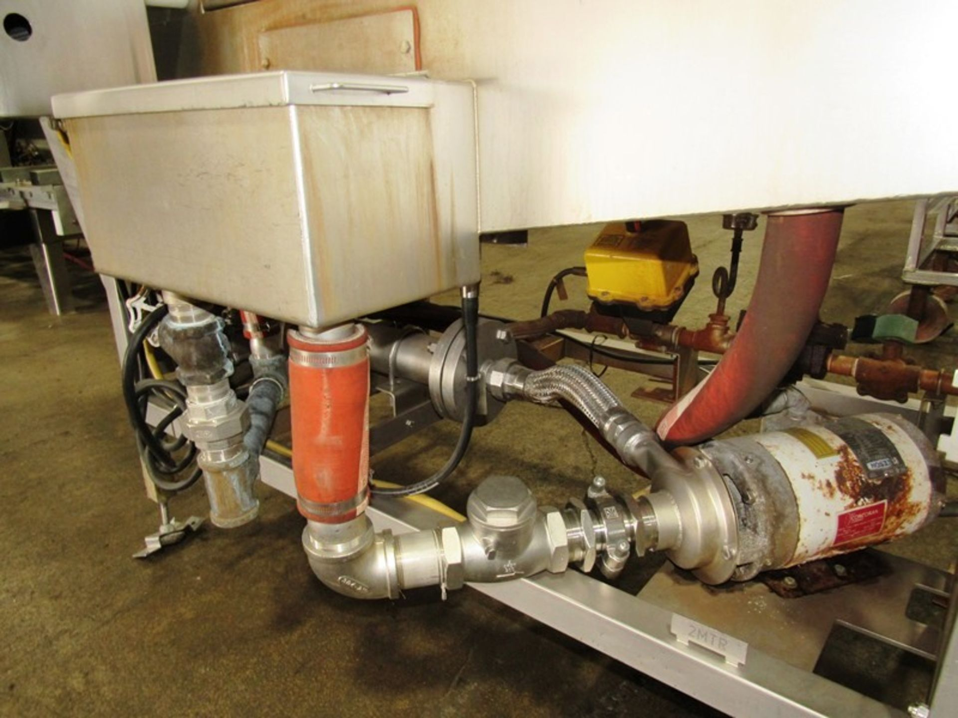 """Cryovac Mdl ST101 Steam/Hot Water Shrink Tunnel, 24"""" Wide X 18"""" Tall X 77"""" Long tunnel, 2 h.p. - Image 7 of 8"""