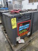 Bulldog Battery Battery Charger, 12 cells, 24 volts, 208/240/480 volts, 3 phase, Located in Plano,