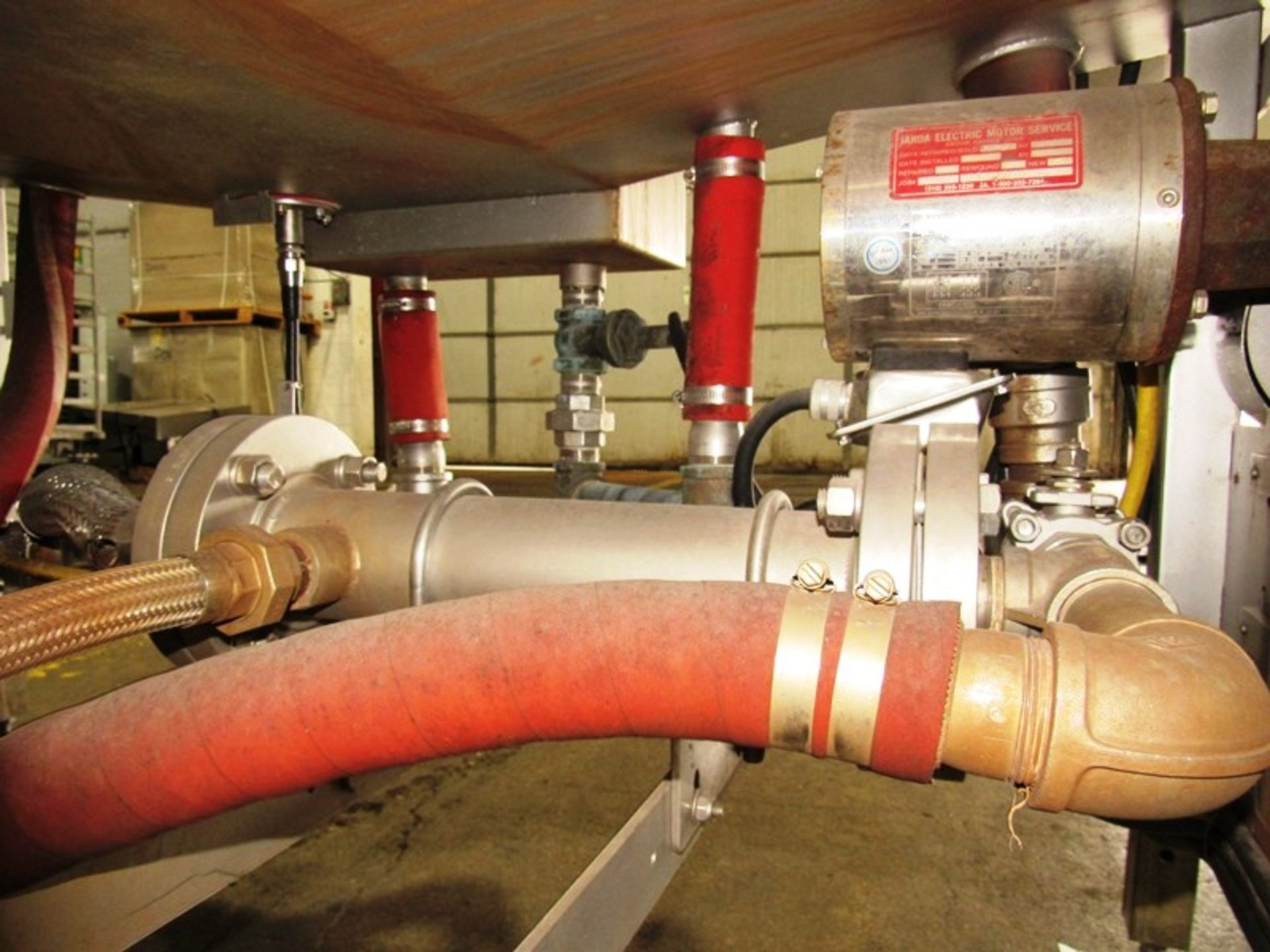 """Cryovac Mdl ST101 Steam/Hot Water Shrink Tunnel, 24"""" Wide X 18"""" Tall X 77"""" Long tunnel, 2 h.p. - Image 8 of 8"""