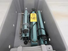 "Lot of (3) American International Impulse Sealers, (2) 15"" seal bars, (1) 12"" seal bar (Required"