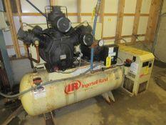 Ingersoll-Rand Mdl. 15TE20-P, Ser. #CBV124291 Air Compressor, 20 h.p., 460 volts, 3 phase (
