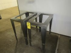 """Stainless Steel Tote Racks, 17"""" W X 30"""" L X 32"""" T (Required Rigging Fee: $50.00-Payment Must Be"""