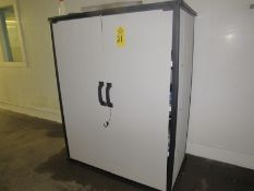 """Plastic Cabinet, 52"""" L X 24"""" D X 67"""" T (Required Rigging Fee: $50.00-Payment Must Be Received by"""
