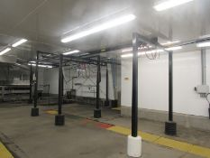 """Overhead Crane Rail, (2 sections), 24' W X 40' L X 11' 6"""" T (Required Rigging Fee: $1,800.00-Payment"""