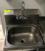 """15"""" X 17"""" STAINLESS HAND SINK"""