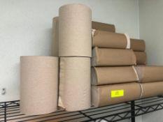 LOT OF PAPER TOWEL ROLLS