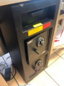 TWO COMPARTMENT DROP SAFE W/ COMBINATION