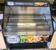 """40"""" SELF CONTAINED GRAB AND GO COOLER MERCHANDISER."""