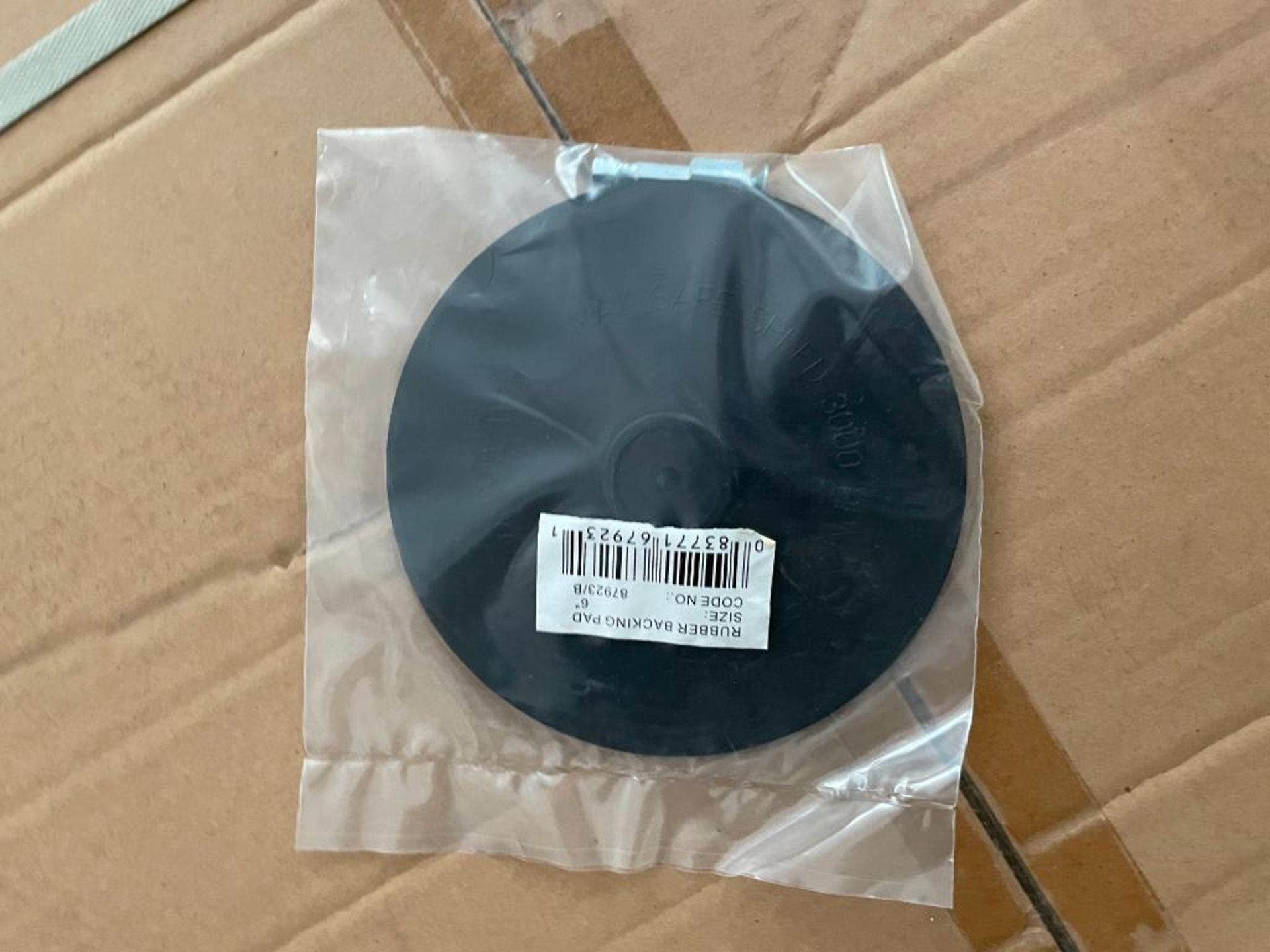 """250CT 6"""" BLACK RUBBER BACK UP BAD FOR DRILLS WITH 1/4"""" SHANK BRAND/MODEL EAZYPOWER 87923 ADDITIONAL - Image 2 of 4"""