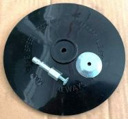 """250CT 6"""" BLACK RUBBER BACK UP BAD FOR DRILLS WITH 1/4"""" SHANK BRAND/MODEL EAZYPOWER 87923 ADDITIONAL"""