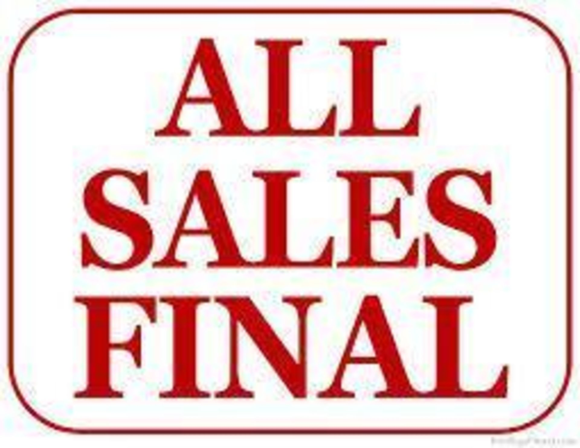 ALL SALES FINAL - Image 2 of 2