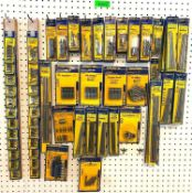 ASSORTED DRILL BIT SETS AS SHOWN LOCATION SHOWROOM THIS LOT IS ONE MONEY QUANTITY 1
