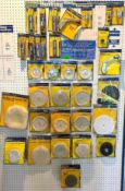 ASSORTED BUFFING WHEELS & COMPOUNDS AS SHOWN LOCATION SHOWROOM THIS LOT IS ONE MONEY QUANTITY 1