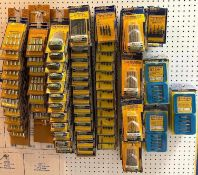 CONTENTS OF PEGBOARD AS SHOWN(ASSORTED DRILL BIT SETS) BRAND/MODEL EAZYPOWER LOCATION SHOWROOM THIS