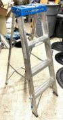 DESCRIPTION: 4 FT. STEP LADDER THIS LOT IS: ONE MONEY QTY: 1