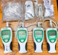 DESCRIPTION: (4) - ELECTRIC THERMOMETERS BRAND / MODEL: WELCH ALLYN THIS LOT IS: SOLD BY THE PIECE Q
