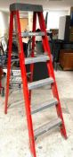 DESCRIPTION: 6 FT. STEP LADDER THIS LOT IS: ONE MONEY QTY: 1