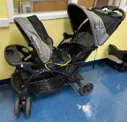 """DESCRIPTION """"SIT N' STAND"""" BABY STROLLER LOCATION 532 QUANTITY 1"""