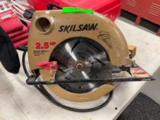 DESCRIPTION: 2.5 HP SKILSAW THIS LOT IS: ONE MONEY QTY: 1