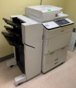 DESCRIPTION: CANON IMAGE RUNNER ADVANCE 8585I MULTI FUNCTION COMPLETE OFFICE PRINTER THIS LOT IS: ON